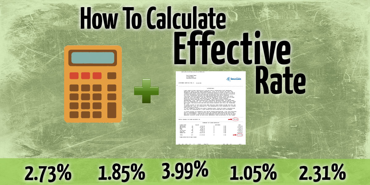 How To Calculate Effective Rate