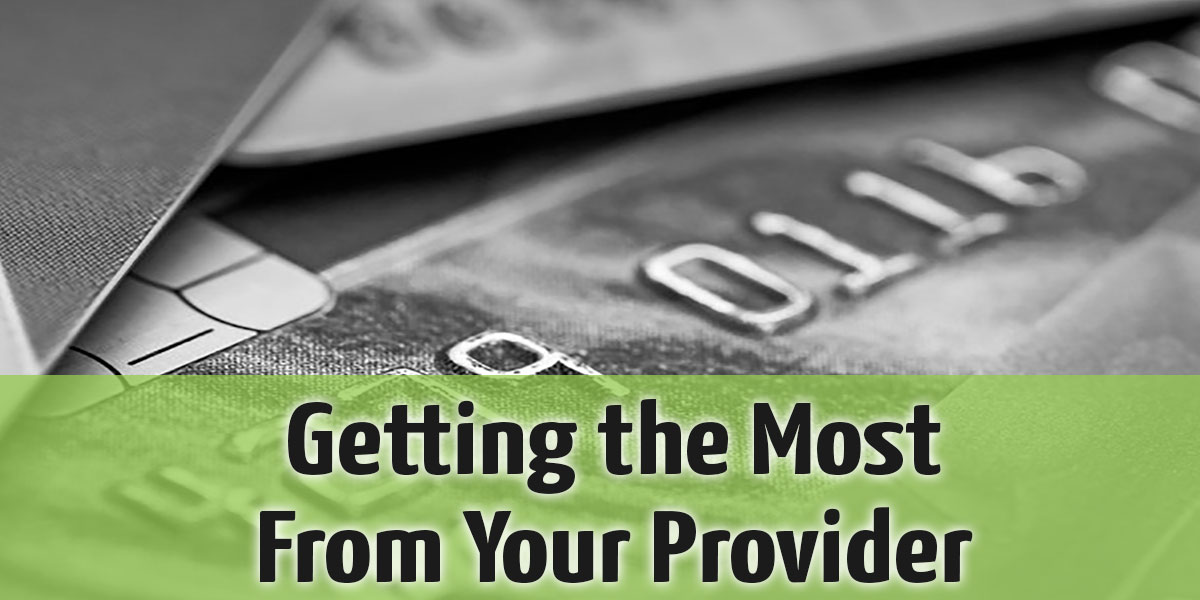 Getting the Most From Your Merchant Account Provider