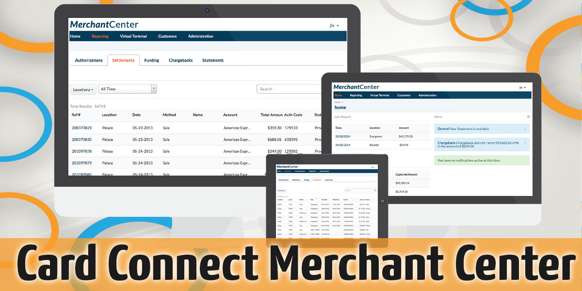 Card Connect Merchant Center Is Here