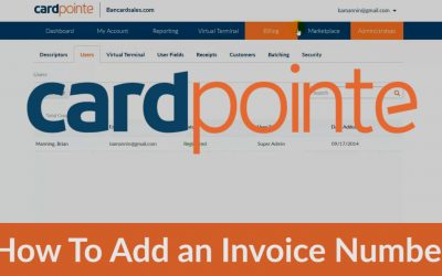Cardpointe Virtual Terminal – How To Add an Invoice Number & Other Custom Fields