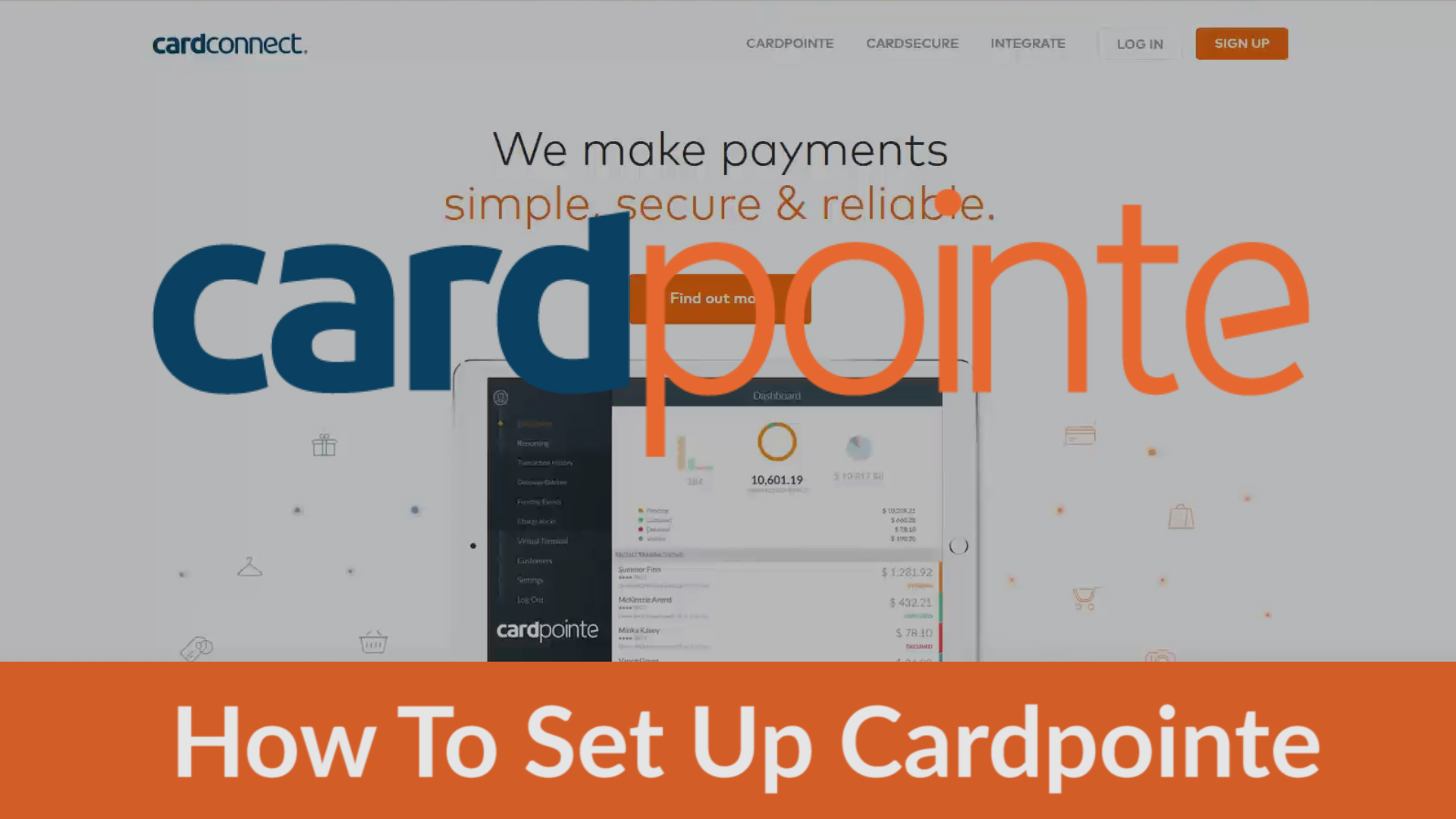Cardpointe - How To Set Up Cardpointe Online THUMB