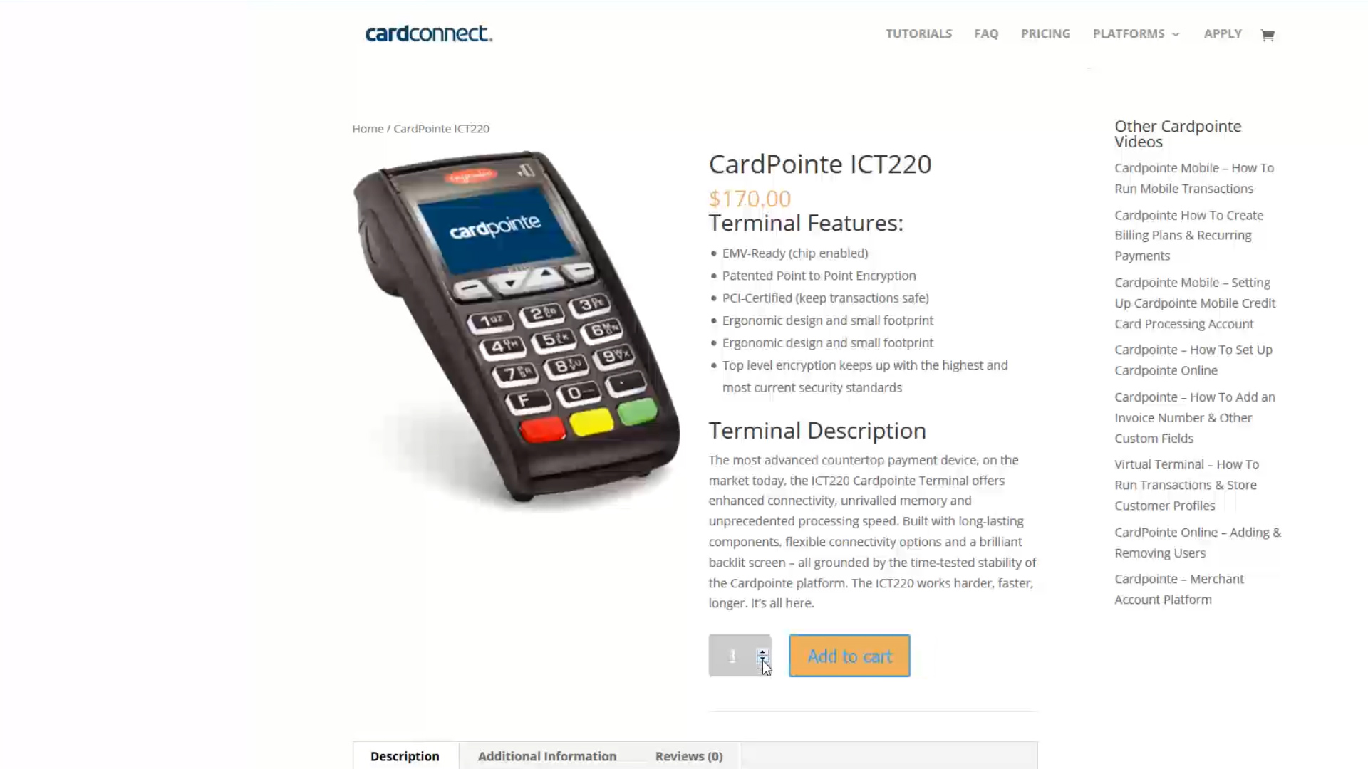 how to setup credit card payment on website