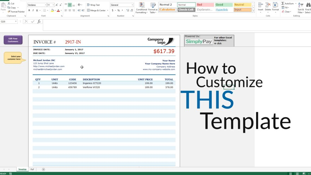 How To Create An Invoice In Excel Free Invoice Template Download - What is a good invoice software