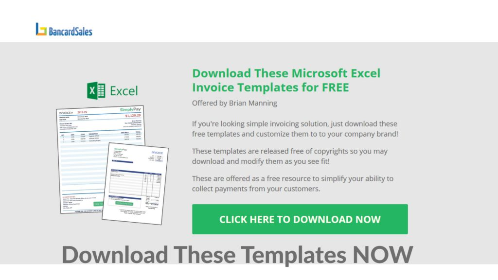 How To Create An Invoice In Excel Free Invoice Template Download - Ms excel invoice template