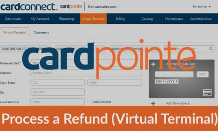 Cardpointe Virtual Terminal – How To Process a Refund [full and/or partial]