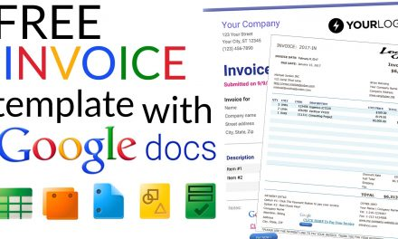 Free Invoice Templates With Google Docs