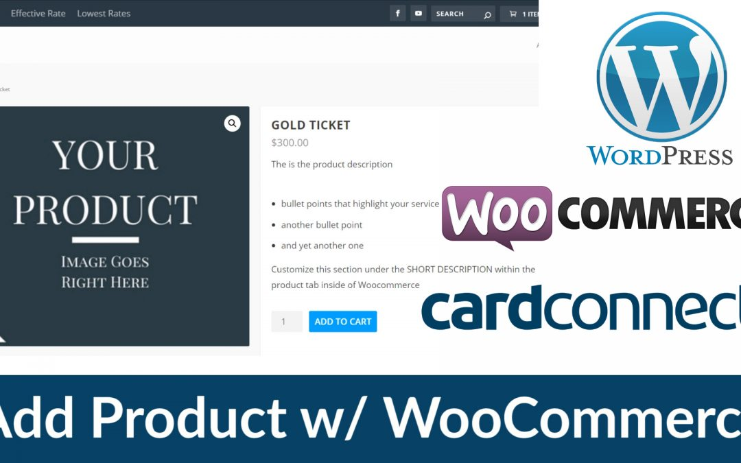WooCommerce Tutorial – How To Accept Payments On Your WordPress Website