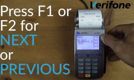 Verifone VX520 Credit Card Terminal Tutorial – Change Receipt Descriptors