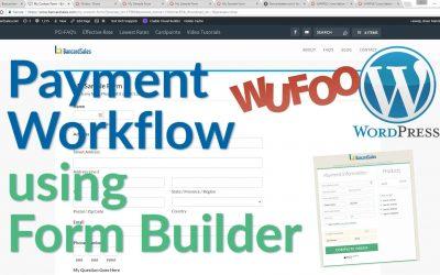 WordPress Tutorial – WordPress, Wufoo, Hosted Payment Page