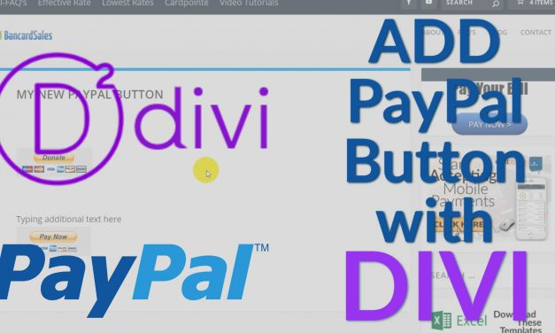 Add Paypal to WordPress using DIVI WordPress Theme and a FREE Payment Plugin