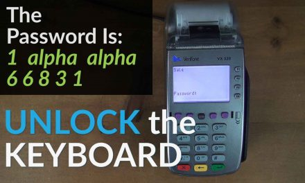 Verifone VX520 Keyboard Locked: How To Unlock The Keyboard