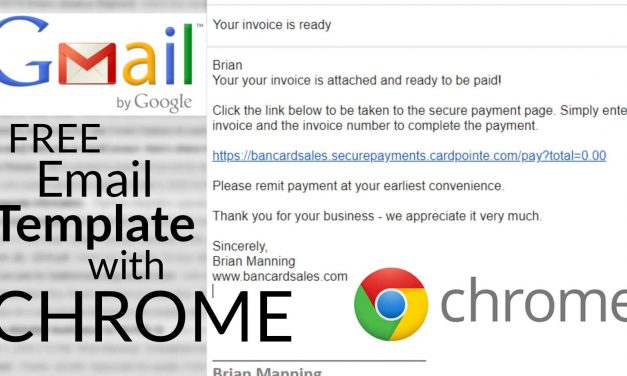Email Template Software Tool (Free) Google Chrome Plugin
