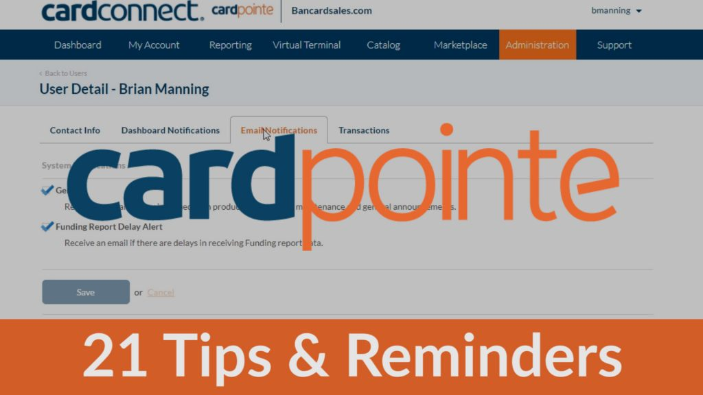 CardPointe Tutorial
