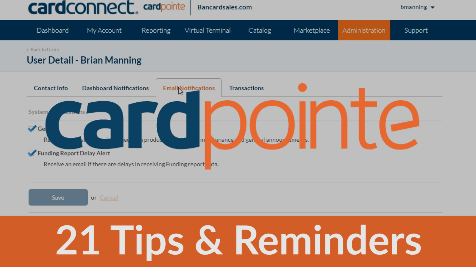CardPointe – 21 Quick Tips and Reminders About CardPointe