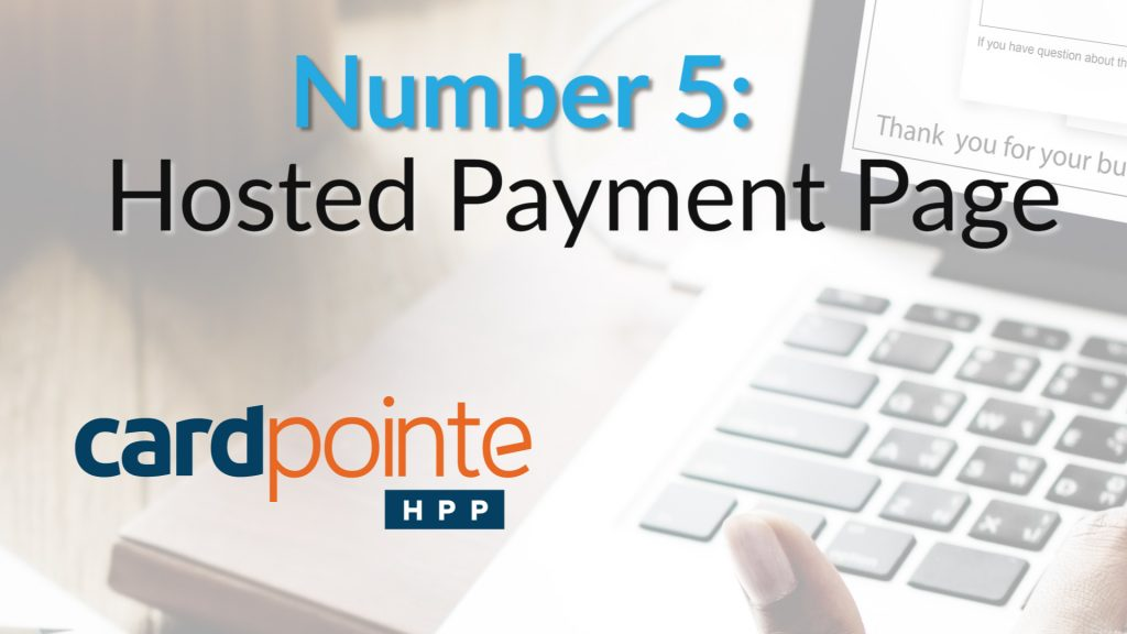5. Cardpointe hosted payment page