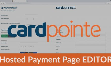CardPointe Hosted Payment Page EDITOR – Introduction & How to use the drag and drop hosted payment page editor