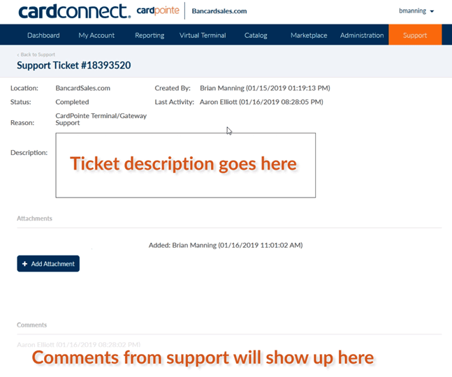 CardPointe-Open-a-Support-ticket-ticket-description-goes-here