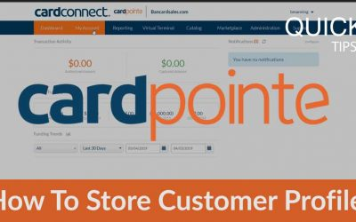 CardPointe Tutorial – 3 Ways To Store a Credit Card Number On File