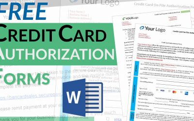 Credit Card Authorization Forms – Free Templates [Download]