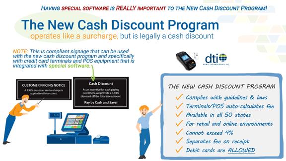 Cash-discount-program-signs