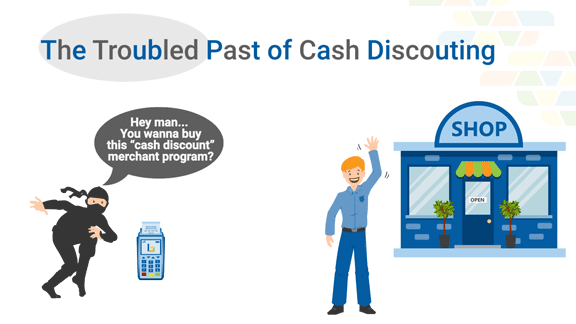 The history of Cash Discount Merchant Account Programs
